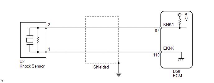 knock sensor circuit low input bank 1
