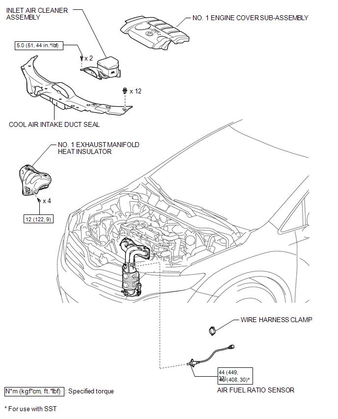 Toyota Venza Air Fuel Ratio Sensor