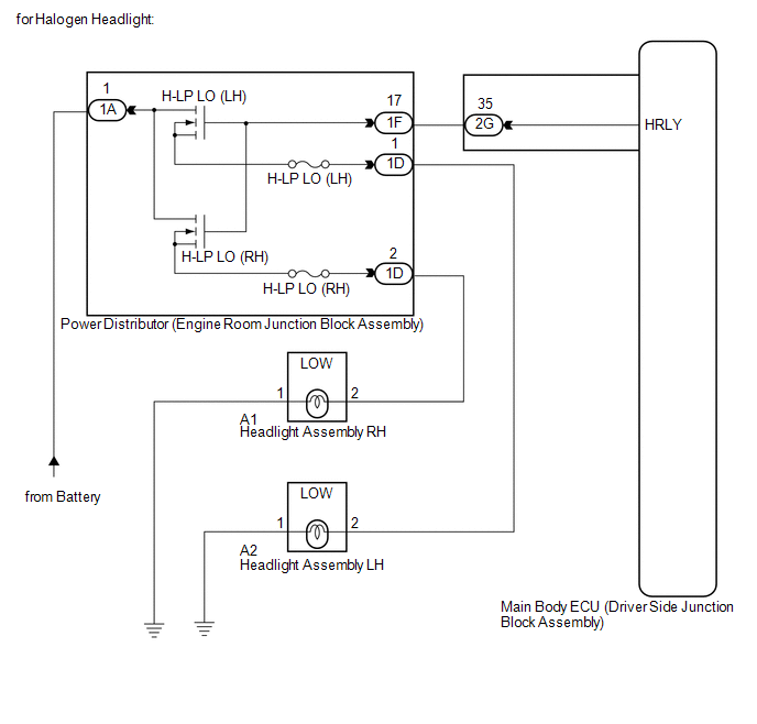 Wiring Diagram For Headlight Relay from www.tovenza.com