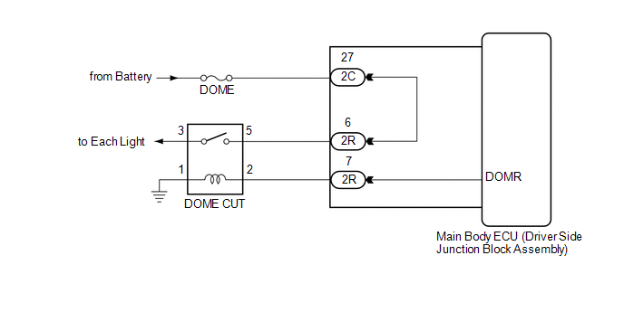 ford toyota dome light wiring diagram on toyota dome light fuse, ford dome  light wiring diagram