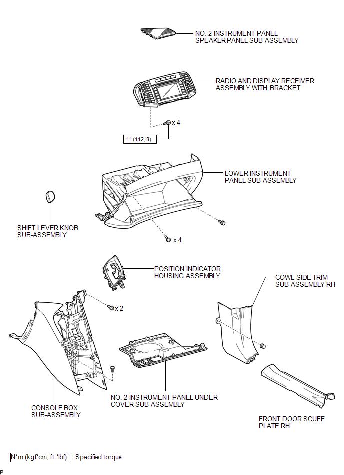 Toyota Venza  Components - Radio Receiver