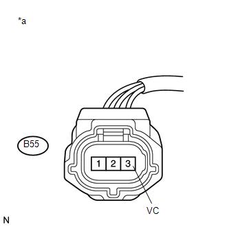 Toyota Venza: Camshaft Position Sensor Circuit Malfunction